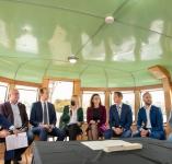 Istorinė akimirka: pasirašytas memorandumas dėl šliuzo ir žuvitakio įrengimo ties Kauno hidroelektrine
